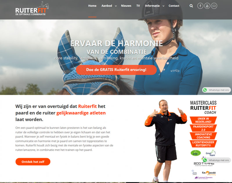Ruiterfit De Optimale Combinatie